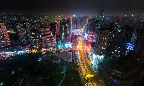 My View in Shanghai by Bun Lee