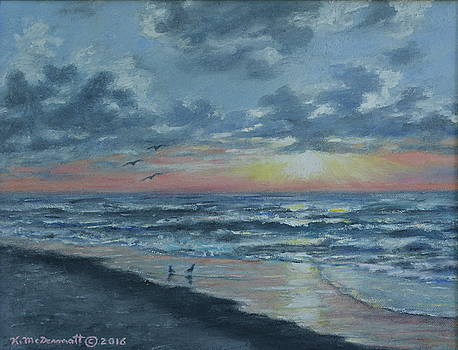 Myrtle Beach Sunrise by Kathleen McDermott