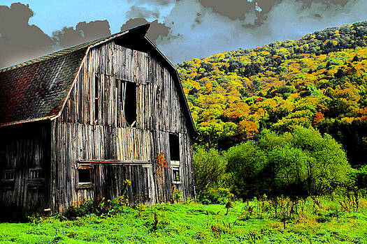 Mysterious Barn by Barry Shaffer