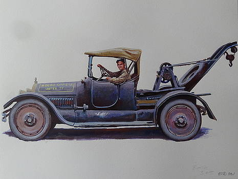 Mystery wrecker 1930. by Mike  Jeffries