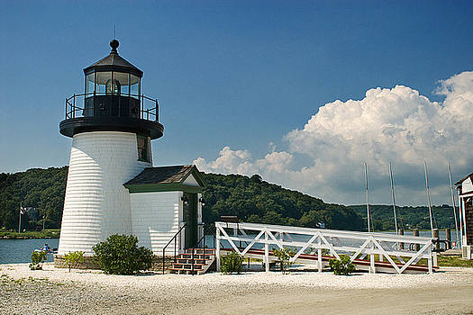 Mystic CT Lighthouse   by Dolly Genannt