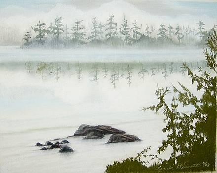 Mystic River Bed by Linda Bennett