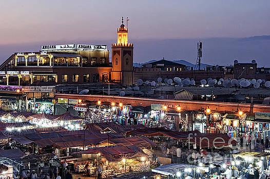 Mystical Marrakech by David Birchall