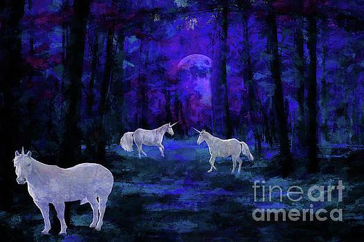 Mystical Moonlight  by Geraldine DeBoer