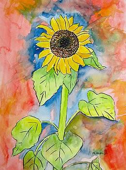 Mystical Sunflower by Marita McVeigh