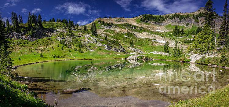 Naches Peak Loop Trail Lake by Joan McCool