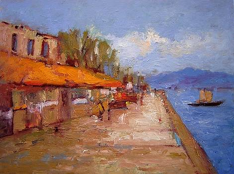 Nafplio Greece by R W Goetting