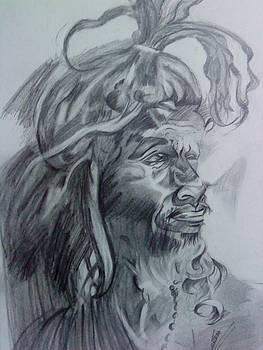 Naga Baba by Sonam Shine