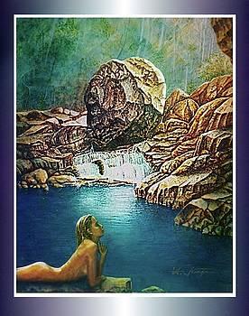 Naiad - The Water Nymph by Hartmut Jager