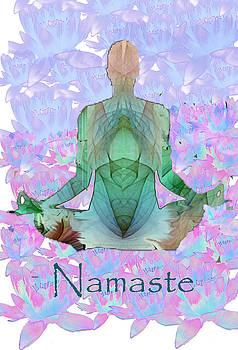 Namaste by Andrea Harston