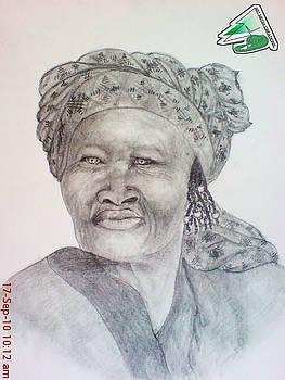 Namibian Queen by Jaiteg Singh