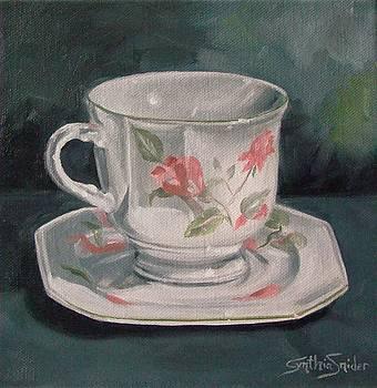 Nana's Teacup by Cynthia Snider