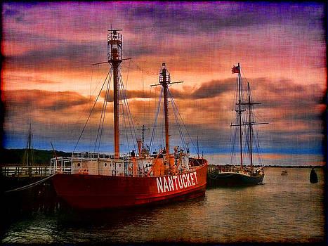 Nantucket Lightship by Jeff Breiman