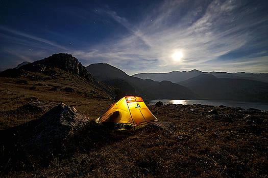Nap Under the Full Moon by Chris  Allington