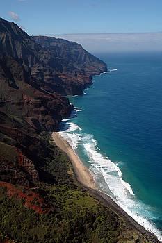 NaPali Cliffs by Kathy Schumann
