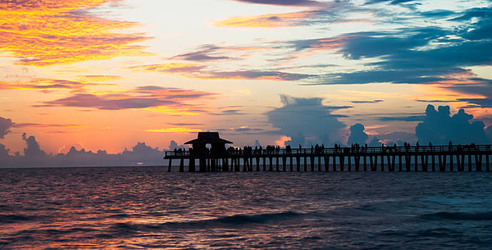 Naples Fishing Pier by Mike Berry