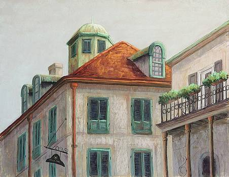 Napoleon House, New Orleans by Candy Mayer