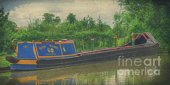 Narrow boat Cassiopeia by Steev Stamford