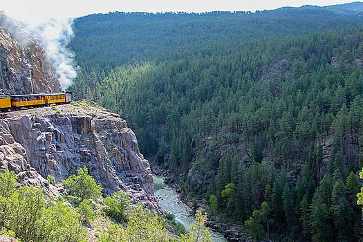 Narrow Gauge Railroad by Jennifer Ansier