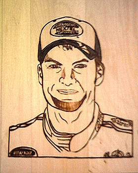 NASCAR Dale Earnhardt Jr by Timothy Wilkerson