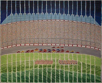 Nascar Race by Jesse Jackson Brown
