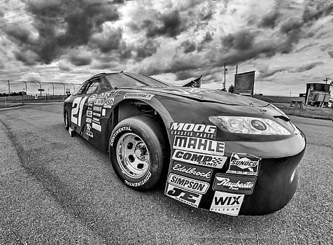 Steve Harrington - Nascar Toyota Race Car - bw