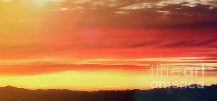Nastalgia As The Sun Sets by Janie Johnson