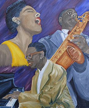 Nat King Cole by Michael Lee