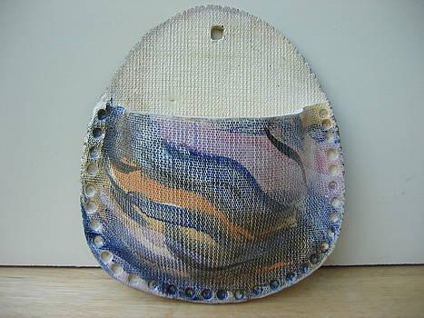 Natalie's wall vase by Julia Van Dine