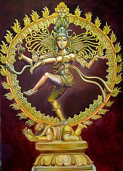 Nataraja Dancing by Murali