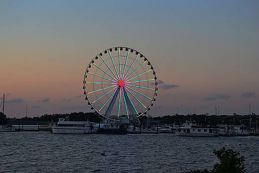 National Harbor-Capital Wheel II by Mikyong Rodgers