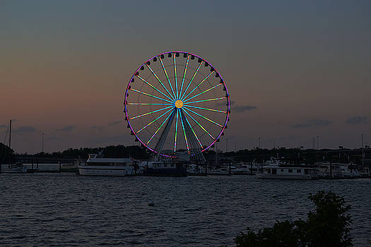 National Harbor-Capital Wheel III by Mikyong Rodgers