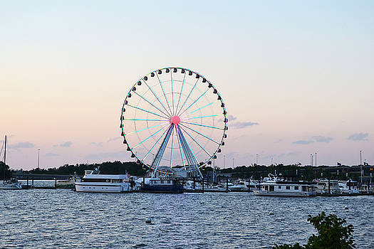 National Harbor-Capital Wheel IV by Mikyong Rodgers