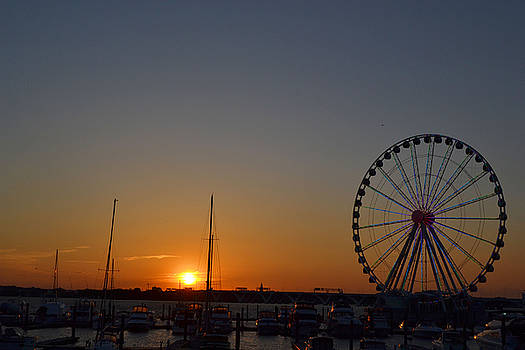 National Harbor-Capital Wheel IX by Mikyong Rodgers