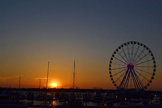 National Harbor-Capital Wheel V by Mikyong Rodgers