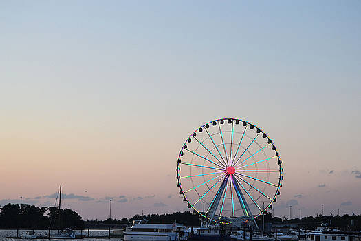 National Harbor-Capital Wheel VII by Mikyong Rodgers