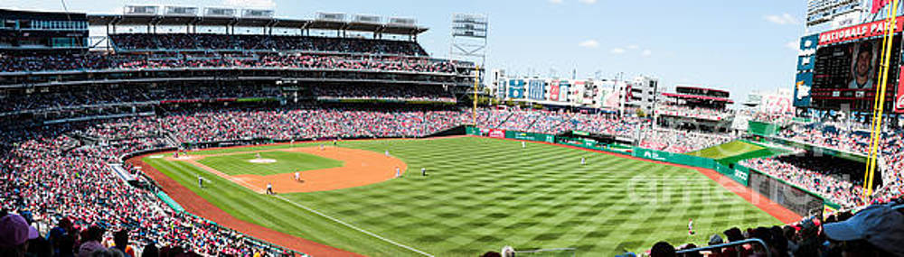 Nationals Park Washington DC by Thomas Marchessault