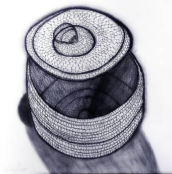 Native American Basket 1 by Ayasha Loya