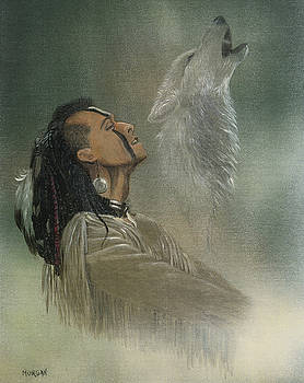 Native American Indian by Morgan Fitzsimons