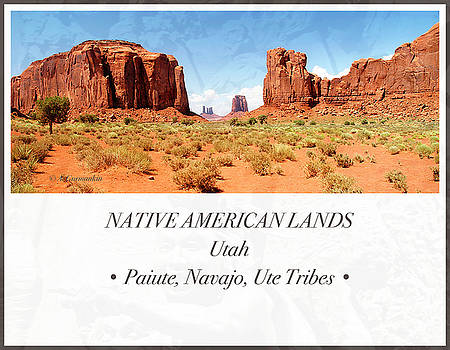 Native American Land, Monument Valley, Navajo Tribal Park by A Gurmankin