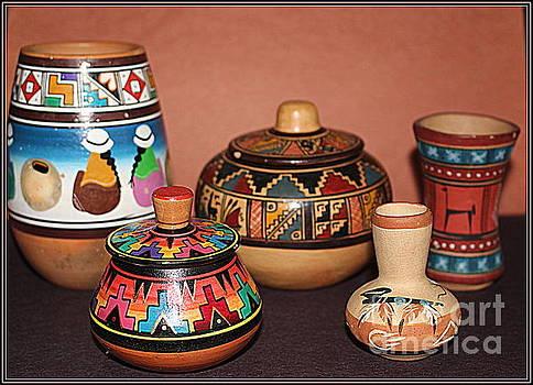 Native American Pottery by Dora Sofia Caputo Photographic Art and Design