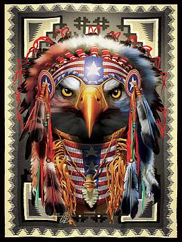 Bald Eagle Chief by Orlando Baca