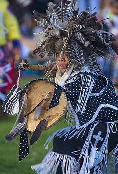 Native Indian  by Kobby Dagan