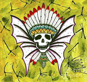 Native Skull by Kev G