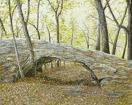 Natural Bridge, Eureka Springs, AR by Mary Ann King
