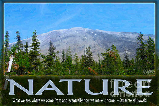 Omaste Witkowski - Nature In All of Us Spiritual Artwork by Omashte