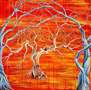 Nature Succumbs to the Machine by Jessica Tookey