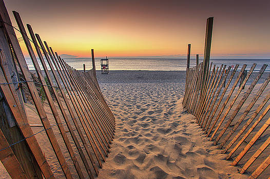 Nauset Beach Entrance 2 by Dapixara Photo Art