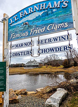 Nautical Landmarks in Essex Massachusetts by Nancy  de Flon