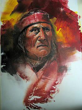 Navajo Man by Robert Carver